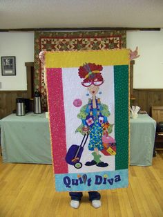 made from Amy Bradley Designs Quilt Diva pattern