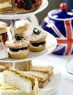 Before I die, I want to have High Tea.
