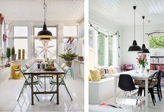 Hoy ponemos un toque industrial a la decoración mediante lámparas de dicho estilo. La mezcla de una decoración con una base nórdico-escandinava y pequeños toques industriales, otorga carácter a las...