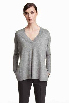 Kaszmirowy sweter | H&M