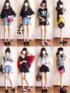 ぴょん|one after another NICE CLAUPのワンピースを使ったコーディネート « Loeyy Japan Fashion, Daily Fashion, Teen Fashion, Love Fashion, Korean Fashion, Fashion Outfits, Womens Fashion, Fashion Trends, Casual Outfits