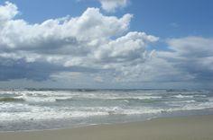 Summer skies at high tide.