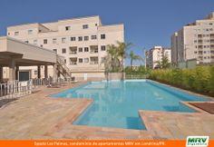Paisagismo do Las Palmas. Condomínio fechado de apartamentos localizado em Londrina / PR