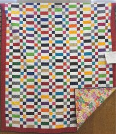 Nunu's Quilt World: Strips and Four Patch