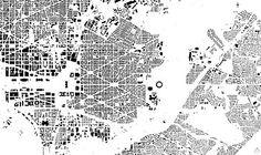 Nolli Map of Washington D. C.