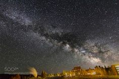Milky Way over Old Faithful Inn  Milky Way over Ofd Faithful Inn in Yellowstone National Park. It was taken in early June 2016.  Camera: Canon EOS 60D Lens: 11-16mm Focal Length: 11mm Shutter Speed: 30sec Aperture: f/2.8 ISO/Film: 3200  Image credit: http://ift.tt/29Sdmsz Visit http://ift.tt/1qPHad3 and read how to see the #MilkyWay  #Galaxy #Stars #Nightscape #Astrophotography