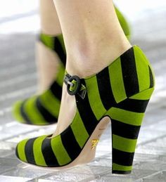 Fabulous wicked witch of the west shoes for witch costume. (wicked witch of the awesome) these guys will peek out nice from under all that black skirt and scream witch!