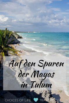 Auf meiner Yucatan Rundreise ist Tulum für mich mein persönliches Traumziel und absolutes Muss!  Weiße Karibikstrände, türkisblaues Meer, eine tolle Innenstadt und die faszinierende Ruinenstätte der Mayas.  Tulum ist ein Ort, den man unbedingt besuchen sollte. Der Ort liegt an der so genannten Riviera Maya, einem Küstenstreifen an der Karibikküste von Mexiko im Bundesstaat Quintana Roo.