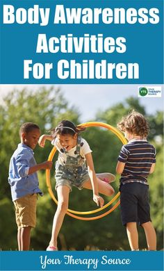 Excellent Snap Shots Body Awareness Activities for Children - Your Therapy Source Thoughts Dance and action therapy is currently a built-in portion of many day-care facilities in German-spe Physical Education Activities, Occupational Therapy Activities, Pediatric Occupational Therapy, Sensory Activities, Activities For Kids, Sensory Play, Calming Activities, Sensory Diet, Pediatric Ot