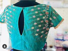 Pattu Saree Blouse Designs, Blouse Designs Silk, Kurti Neck Designs, Designer Blouse Patterns, Dress Designs, Simple Blouse Designs, Stylish Blouse Design, Simple Designs, Work Blouse