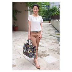 Photo taken by @therealmarian on Instagram, pinned via the InstaPin iOS App! (09/16/2014) Casual Wear, Casual Outfits, Cute Outfits, Fashion Pants, Fashion Outfits, Womens Fashion, Fashion Ideas, Filipino Fashion, Marian Rivera