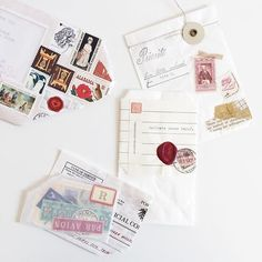 �oIncoming mail} from dearest @thedailyroe, it was so sad that the mail was damaged and torn but ...