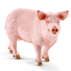 Фигурка SCHLEICH Свинья - купить, фигурка schleich свинья цена в интернет магазине детских товаров и игрушек «Детский Мир»