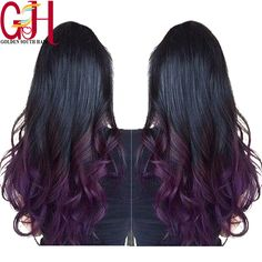 Find More Human Wigs Information about 7A 150%Density Virgin Brazilian Body Wave Purple Ombre Wig Glueless Lace Front Human Hair Wigs&Full Lace Wigs For Black Women,High Quality wigs for women of color,China wigs for sale cheap Suppliers, Cheap wig long from QingDao Golden South Hair on Aliexpress.com