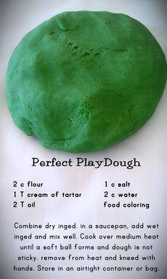 The best homemade playdough recipe!