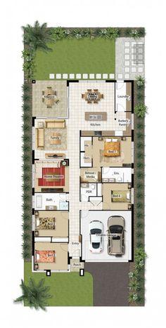 Ideas for house plans small farmhouse layout House Layout Plans, House Plans One Story, Best House Plans, Dream House Plans, House Layouts, Small House Plans, House Floor Plans, The Plan, How To Plan