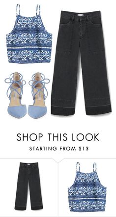 """""""Untitled #531"""" by paulii55 ❤ liked on Polyvore featuring MANGO and Kristin Cavallari"""