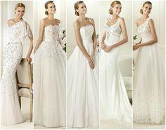 ¡Ya tenemos los primeros vestidos de novia 2013!