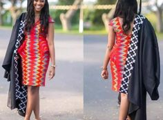 African print dresses for graduation can come in all designs. The kente styles, ankara styles, African print jumpsuits, even a well designed kaba and slit. African Print Jumpsuit, African Print Dresses, African Print Fashion, African Dress, Fashion Prints, Ghana Fashion, Africa Fashion, Casual Dresses, Fashion Dresses