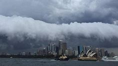 Storm rolls in ... SUMMER is finished and autumn has made an impressive debut in Sydney. Australia.