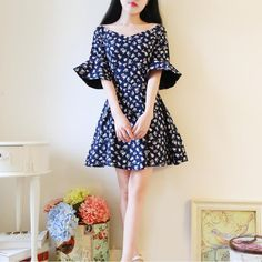 >>>OrderKorea 2016 summer new women's fashion sweet strapless V-neck was thin waist lotus sleeve Floral Dress high quality W297Korea 2016 summer new women's fashion sweet strapless V-neck was thin waist lotus sleeve Floral Dress high quality W297Low Price...Cleck Hot Deals >>> http://id456907382.cloudns.pointto.us/32715832347.html images