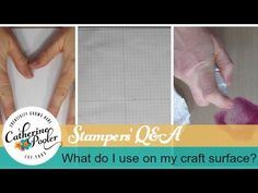 Q&A: What to Use to Protect Your Crafting Surface http://catherinepooler.com/2015/03/qa-use-protect-crafting-surface/