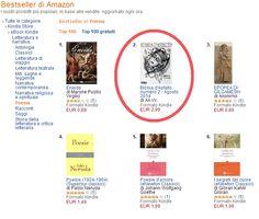 23/08/14: il giorno seguente alla sua uscita, la rivista digitale Bibbia d'Asfalto è seconda nella classifica bestseller di Amazon, categoria poesia.