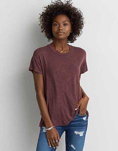 AEO Soft & Sexy Crew Favorite T-Shirt