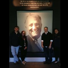 Dr. Greene's Historical Methods class traveled to the Franklin Delano Roosevelt Library in Hyde Park, NY on April 24th. They spent time looking at the private papers of FDR and ER and the records of the FDR administration to help with the papers the students are writing for their seminar. #CazenoviaCollege #FDR