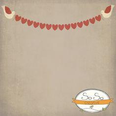 Love Birds Valentine Backdrop $50.00