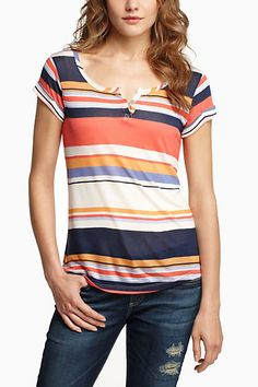 cute top and spring is almost here!!  At Anthropology by Splendid.  Looks comfy too.