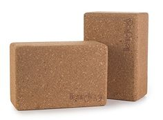 Set Of 2 Hemingweigh Cork Yoga Blocks, 2015 Amazon Top Rated Blocks #Sports