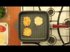 Grill Pan, Grilling, Kitchen, Youtube, Saucepans, Cooking Recipes, Food, Griddle Pan, Cooking