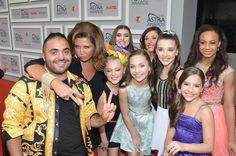 Nia, Kalani, Gianna, Jojo, Abby, Mackenzie, Maddie and Kendall in Sydney Australia at the Astra Awards 2015