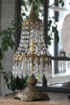 C-for Crystal Chandelier