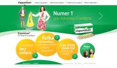 """Espumisan - www.espumisan.pl. W 2012 roku zostaliśmy autorami strategii obecności marki Espumisan w polskim Internecie. Rok później weszliśmy na """"international level"""", bo koncern Berlin Chemie wdrożył siostrzane projekty espumisan.pl w kilku krajach Europy!"""