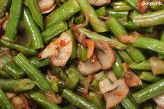 Sauteed Green Beans and Mushrooms