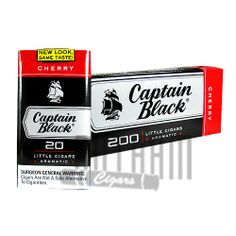 Featuring the famous taste of Captain Black Little Cigars Cherry, these little gems offer a mild taste, with a sheet wrapper and a blend of Indonesian, Philippine and United States tobaccos. Enjoy Captain Black Little Cigars Cherry. Get a Captain Black Little Cigars Cherry today.Quantity: 10 Packs of 20