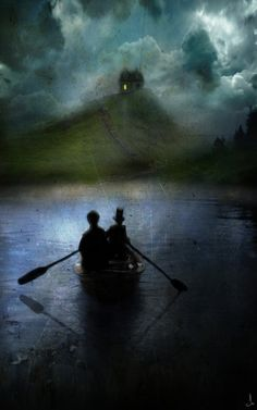 Not a book cover, but I would love to see it as one. Alexander Jansson
