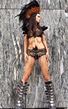 Costume de style Mad Max