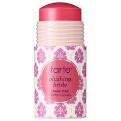 tarte cheek stain, blushing bride, gluten free makeup