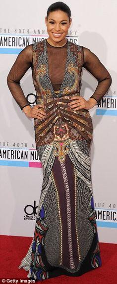 Worst Dressed of American Music Awards 2012 - #JordinSparks