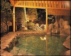 Bathe in an onsen (hot springs) in Japan... so relaxing