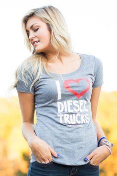 I love diesel trucks t-shirt. NEED! LOVE!