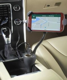 Look at this Charge 'n' Ride Dual USB Smartphone Holder on #zulily today!