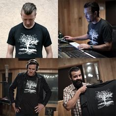 The band Transfer showing off limited edition shirts they designed for Sound Off Apparel that benefit domestic violence and sexual abuse education prevention. Available for the month of July only!