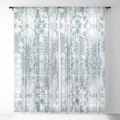 Zymes - Magical texture Z of Alphabet collection Sheer Curtain by Coleggenna Sheer Curtains, Window Curtains, Little Plants, Curtain Rods, Alphabet, Abstract Art, Glow, Texture, Collection