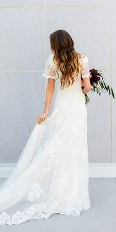 simple and beautiful wedding gowns 6