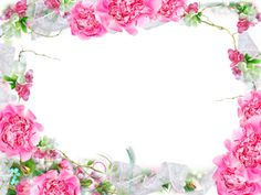 View album on Yandex. Framed Wallpaper, Writing Paper, Flower Frame, Views Album, Pink Roses, Floral Wreath, Photoshop, Flowers, Beautiful