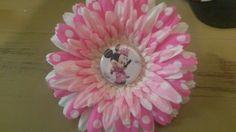 Minnie flower clip